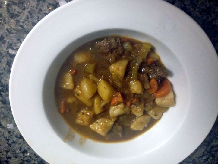 Beef Stew. Ready to eat after 15 minutes!