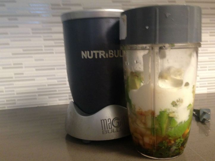 Ready to Blend: Avocado Dressing in the Nutribullet