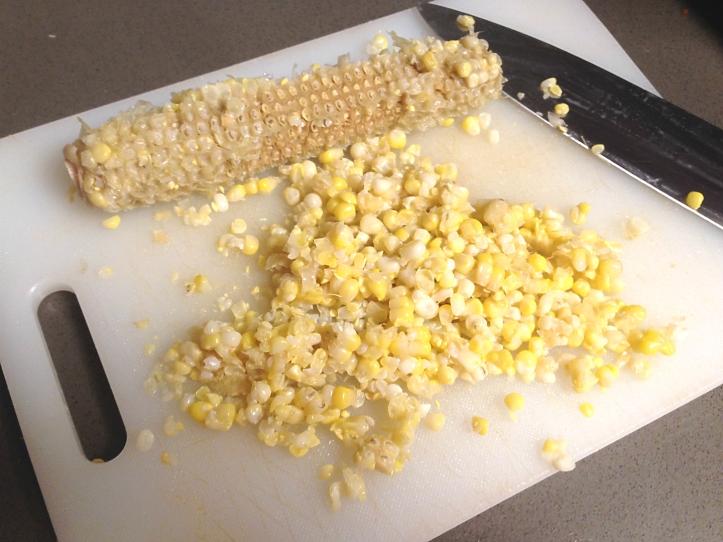 Corn off the cob