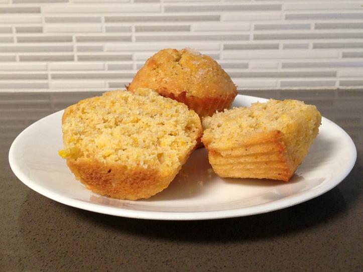 Orange-kissed corn muffins