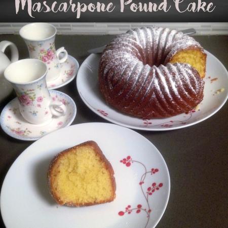 Mascarpone Pound Cake